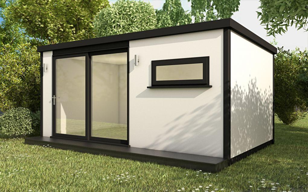 Garden Room Cube Rendered