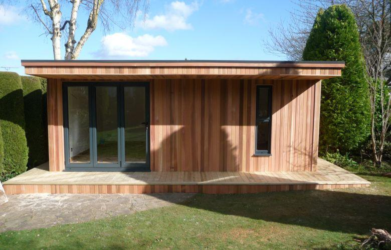 Entirely Clad In Western Red Cedar